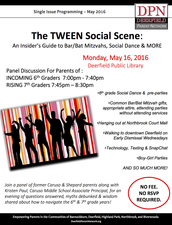 1st Posting - Deerfield Parent Network: The Tween Social Scene Panel and Presentation