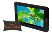 Free 7in Tablet