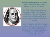 Benjamin Franklin founds a private academy