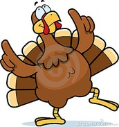 Nov. 20th - Turkey Luncheon at our regular time