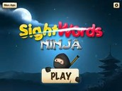Sight Word Ninja App