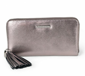 Pewter Mercer Wallet - Was £115 Now £55