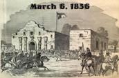 The Alamo March 6, 1836