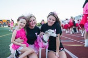 Pink out parade for Breast Cancer