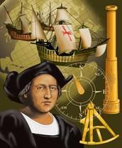 In 1492 Columbus sailed the ocean blue!