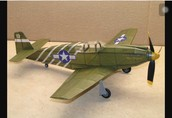 What materials do people use to build a model airplane?