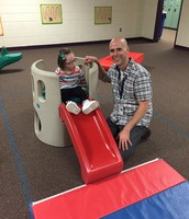 Mr. Todd working with a student