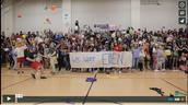 Seniors send video to Ellen for graduation.