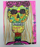 the day of the dead drawling