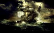 Ghost ships past