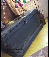 Vintage Army Chest - $175