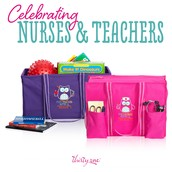 Don't forget those amazing teachers and nurses in you life!