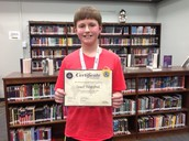 Geographic Bee Middle School WINNER!