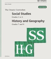 Social Studies, history and geography