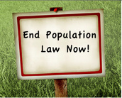 End the population law 3903