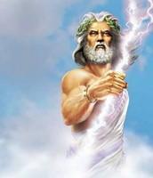Zeus, his Father