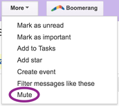 How to Mute a Reply All Message