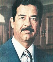 Saddam Hussein as President