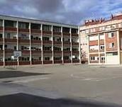 Patio central del colegio