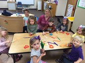 Ms. Rebecca's class had Crazy Hair Day