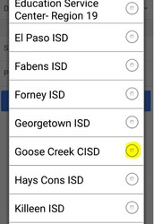 STEP 2: Select your district