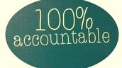 """January Mindset of the Month  """"100% Accountable"""""""