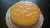 Mango-Pineapple Cheesecake