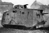 German WW1 Tank