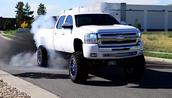 Modern Diesel Truck