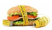 measure portion foods in a Diet