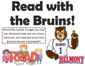 Belmont's Read with the Bruins Winter Break Reading Program
