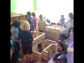 2nd graders demonstrate their understanding of residential zones