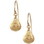 Demi Earrings Gold RRP £19. Sale £14