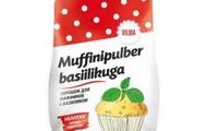 Muffinipulber basiilikuga