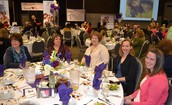 ESD Staff attend the Sweetheart Luncheon
