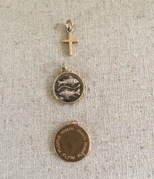 Assorted Charms (Cross, Pisces, Mom) $5 each