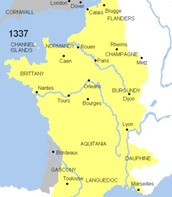 Channels during the Hundred Years' War