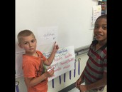 WIN partners working together in Douglas' room.