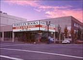 Powell's used  book store
