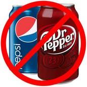 Cut back on soda
