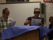 King Lear, Mr. Lavold's Class