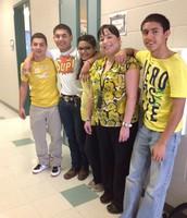 Mrs. Delgado & students