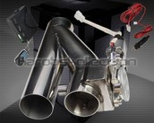 ELECTRIC EXHAUST CATBACK/DOWNPIPE E-CUT OUT/ CUTOUT VALVE SYSTEM REMOTE KIT 2.5""