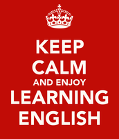 Learn English and you'll succeed!