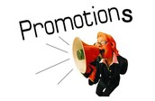 Promotions!!!