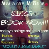 Do you need a singer for your Wedding? Party? Function? Event?