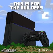 PS4 in Minecraft