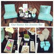Starter Kit Jewelry Bar