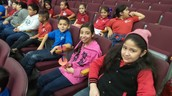 Kelly-Pharr Elementary 5th graders ready for the show!