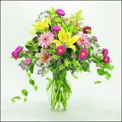 Beautiful Flowers for that beautiful lady!